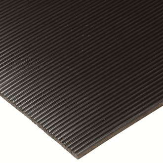 HEAVY DUTY CORRUGATED Vinyl Runner for Commercial Flooring