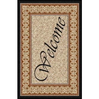 WELCOME 1 Greeting Indoor Commercial Entrance Floor Mat