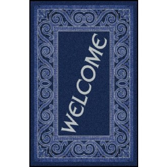 WELCOME 3 Greeting Indoor Commercial Entrance Floor Mat