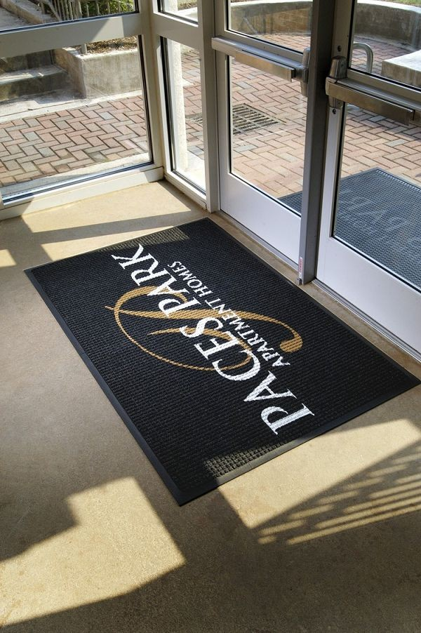 Waterhog Logo Indoor Outdoor Floor Mat Floor Mat Systems