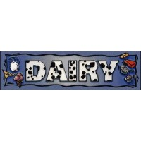 DAIRY SUPERMARKET Indoor Floor Mat
