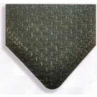 DIAMOND PLATE GRIT SHIELD ULTRASOFT Anti-Fatigue Floor Mat