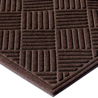 ECOMAT CROSSHATCH Indoor/Outdoor Entrance Floor Mat