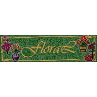 FLORAL SHOP SUPERMARKET Indoor Floor Mat