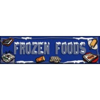FROZEN FOOD SUPERMARKET Indoor Floor Mat