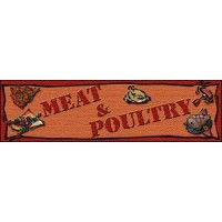 MEAT & POULTRY SUPERMAKET Indoor Floor Mat