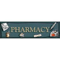 PHARMACY SUPERMARKET Indoor Floor Mat