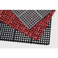 RING MAT INTERLOCK Drainage Commercial Floor Mat