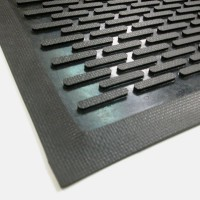 SCRAPEMAT RUBBER Outdoor Entrance Floor Mat