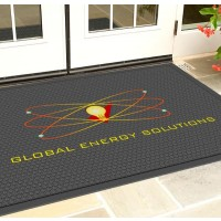 Perfect SCRAPER Outdoor Logo Floor Mat