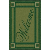 WELCOME 5 Greeting Indoor Commercial Entrance Floor Mat