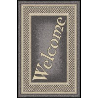 WELCOME 6 Greeting Indoor Commercial Entrance Floor Mat