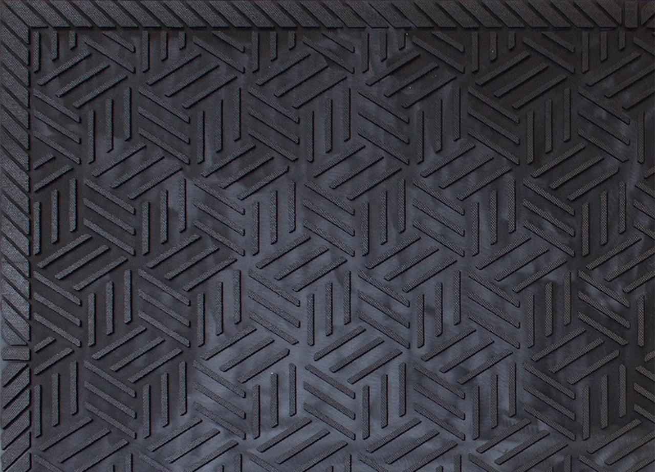 Superscrape Drainable Rubber Outdoor Entrance Floor Mat