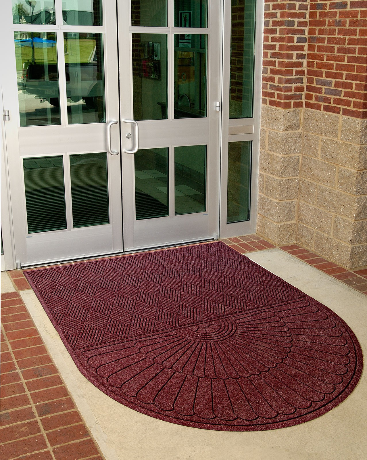 Waterhog Eco Grand Premier One End Rounded Floor Mat Systems