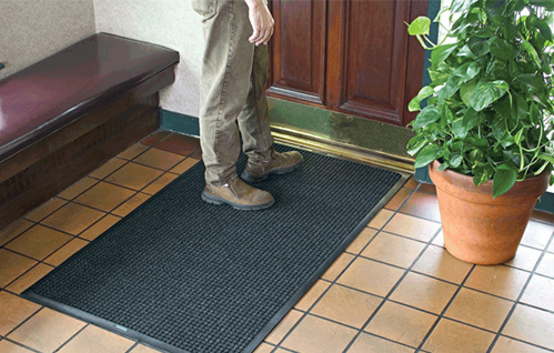 slip absorbs brownish inside backing door com mud indoor dp non mats doormat latex mat entrance for small amazon front super washable
