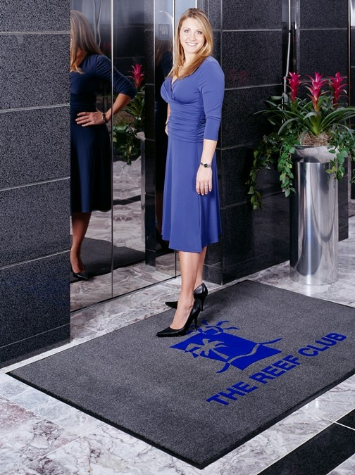 Remember Everytime They Think About The Products Or Services You Offer.  This Is How Using Custom Logo Floor Mats Reinforce Your Brand Name And Logo.